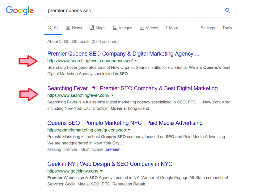 premier-queens-seo-dominate-google-page-one